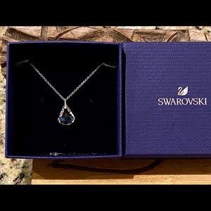 Swarovski Clear Crystal Rhodium Spirit Necklace